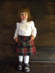 Lady Chrystel kilts from France  Modern kilt
