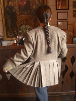 Lady Chrystel kilts from France Veste en tweed pour femme