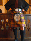 Lady Chrystel kilts from France  Kingussie kilt