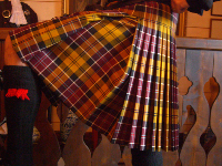 Lady Chrystel kilts from France KINGUSSIE