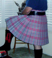 Lady Chrystel kilts from France